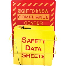 IMP 799200 Impact Right To Know Center Safety Rack IMP799200