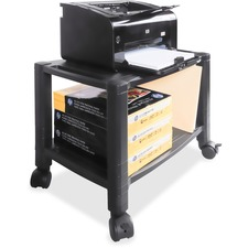 KTK PS610 Kantek Mobile 2-Shelf Printer/Fax Stand KTKPS610