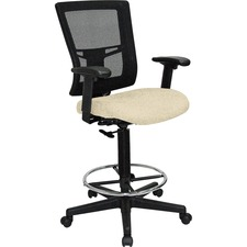 LLR43100007 - Lorell Mesh Back Drafting Stool