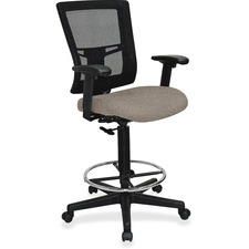 LLR43100008 - Lorell Mesh Back Drafting Stool