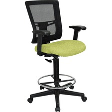 LLR43100009 - Lorell Mesh Back Drafting Stool