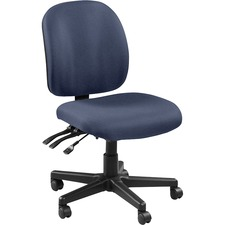 LLR53100010 - Lorell Mid-back Armless Task Chair
