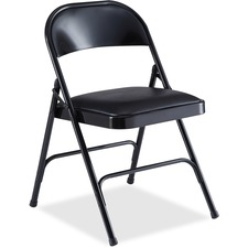 LLR 62526 Lorell Padded Seat Folding Chair LLR62526