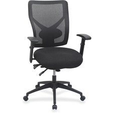 LLR84589 - Lorell Multi-task Control Mesh Back Chair