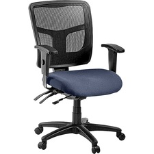 LLR86201010 - Lorell Managerial Mesh Mid-back Chair