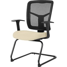 LLR86202007 - Lorell Adjustable Arms Mesh Guest Chair