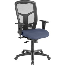 LLR86205010 - Lorell Executive High-back Swivel Chair