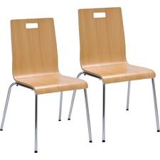 LLR99864 - Lorell Bentwood Cafe Chair