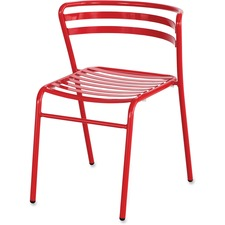 SAF 4360RD Safco Multipurpose Stacking Metal Chair SAF4360RD