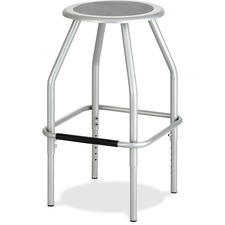 SAF 6666SL Safco Diesel Adjustable Height Steel Stool SAF6666SL