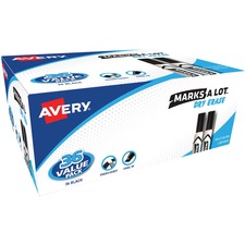 AVE 98207 Avery Marks-A-Lot Dry-Erase Markers AVE98207