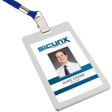 BAU66121 - SICURIX Badge Holder - Vertical