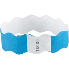 BAU85330 - SICURIX Wavy Wristbands with Adhesive