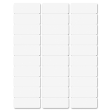 """Business Source Bright White Premium-quality Address Labels - 1"""" x 2 5/8"""" Length - Permanent Adhesive - Laser, Inkjet - Bright White - 30 / Sheet - 500 Total Sheets - 15000 / Carton"""
