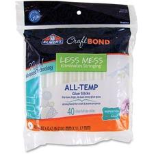EPI E6060 Elmer's CraftBond Less Mess All-Temp Glue Sticks EPIE6060