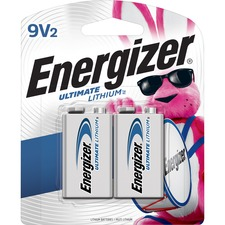 EVE L522BP2 Energizer Ultimate Lithium 9V Battery EVEL522BP2