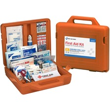 FAO 90699 First Aid Only 215-pc Weatherprf First Aid Kit FAO90699