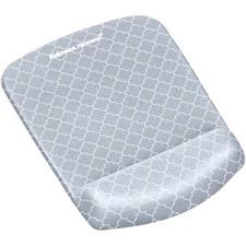 FEL 9549701 Fellowes PlushTouch Mouse Pad/Wrist Rest FEL9549701