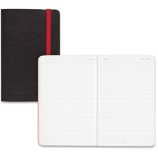JDK 400065001 Black n' Red Soft Cover Business Notebook JDK400065001