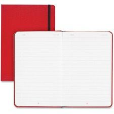 JDK 400065003 Black n' Red Hard Cover Business Notebook JDK400065003