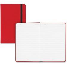 JDK 400065004 Black n' Red Hard Cover Business Notebook JDK400065004