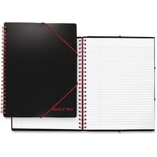 JDK 400077473 Black n' Red Twinwire Filing Notebook JDK400077473