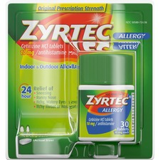 Johnson&Johnson Zyrtec Tablets