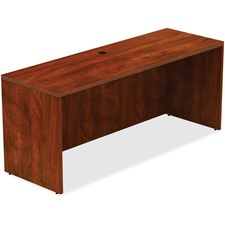 LLR 34363 Lorell Contemporary Cherry Laminate Desking LLR34363