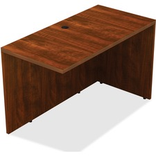 LLR 34378 Lorell Contemporary Cherry Laminate Desking LLR34378
