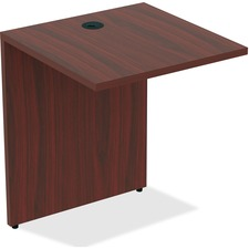 LLR 34383 Lorell Essentials Series Cherry Laminate Desking LLR34383