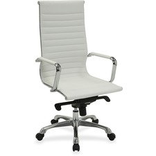 LLR 59502 Lorell Modern Chair Srs High-back Leather Chair LLR59502