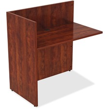 LLR 59626 Lorell Essentials Series Cherry Laminate Desking LLR59626