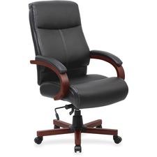 LLR 69532 Lorell Leather High Back Executive Chair LLR69532