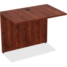 LLR 69537 Lorell Essentials Series Cherry Laminate Desking LLR69537