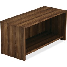 LLR 69955 Lorell Walnut Laminate Office Desking LLR69955