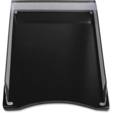 LLR80629 - Lorell Metal/Wood 2-color Front Load Tray
