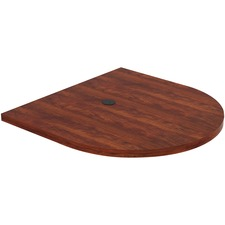 LLR 97600 Lorell Prominence Cherry Laminate Oval Tabletop LLR97600