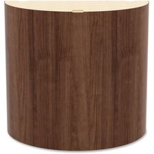 LLR 97614 Lorell Prominence Walnut Laminate Curved Base LLR97614