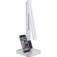 LLR99771 - Lorell iPhone Station LED Desk Lamp