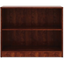 LLR 99779 Lorell Cherry Laminate Bookcase LLR99779