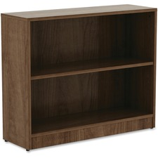 LLR99780 - Lorell Walnut Laminate Bookcase
