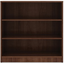 LLR 99783 Lorell Walnut Laminate Bookcase LLR99783