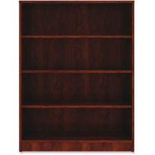 LLR 99785 Lorell Cherry Laminate Bookcase LLR99785