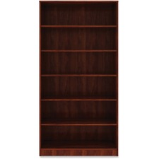 LLR 99791 Lorell Cherry Laminate Bookcase LLR99791