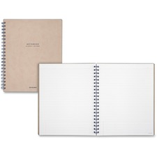 MEA YP14307 Mead Signature Collection Large Meeting Notebook MEAYP14307