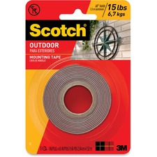 MMM 411P 3M Scotch Outdoor Mounting Tape MMM411P