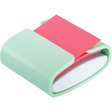 "Post-it® Pop-up Notes Dispenser - 3"" (76.20 mm) x 3"" (76.20 mm) - Mint"