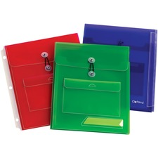 OXF 30058 Oxford Poly Pocket Binder Envelopes OXF30058