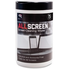 REARR15045 - Advantus Read/Right AllScreen Screen Cleaning Wipes