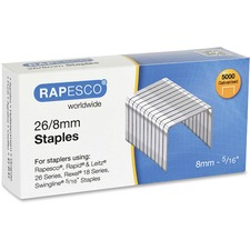 RPC S11880Z3 Rapesco 26/8mm Galvanized Staples RPCS11880Z3